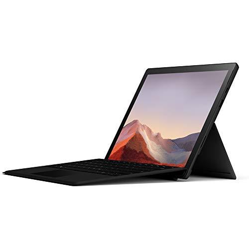 Microsoft Surface Pro 7 123 Zoll 2 in 1 Tablet Intel Core i5 8GB RAM 256GB SSD Win 10 Home Schwarz Pro Type Cover QWERTZ Keyboard Schwarz