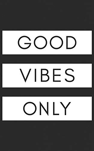 Good Vibes Only: Sneaker Heads, Basketball Shoes Retro Notebook - Perfect for Hippies, Rastafarians & Beach Lovers! Funny Journal Notebook & Planner Gift!