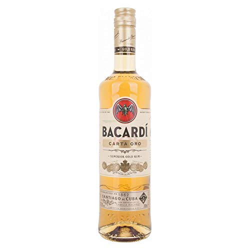 Bacardi Carta Oro 37,5% - 700ml