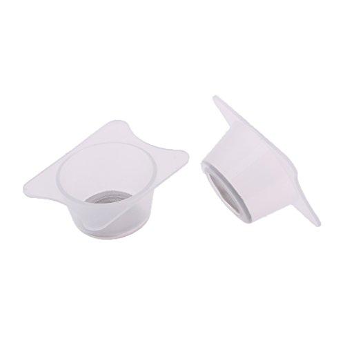 non-brand 2X Tazas de Filtro de Purificación de Pintura para Modelos DIY Bricolaje - 3.2 x 2.5 x 1.5cm