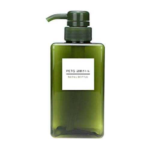 Floridivy 100ml Platz Lotion-Flasche Händedesinfektionsmittel Shampoo-Flasche Kosmetik Reise Lotion Container