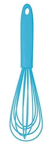Kitchen Craft MaxxGoods - Batidor de Varillas (Silicona, 23 cm de Largo, soporta hasta 260°C, Revestimiento antibacterias)