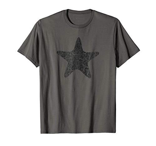 Starfish Distressed Print - Vintage Starfish T-Shirt