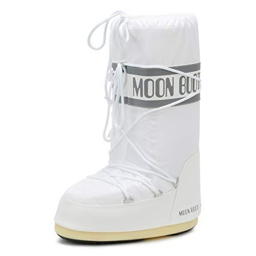 Moon Boot Nylon white 006 Unisex 39-41 EU Schneestiefel