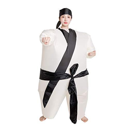 Traje inflable, traje divertido de s perfecto for el carnaval, la despedida de soltero o Halloween, juguetes al aire libre Jugando Suministros entretenimiento, un tamao, Rojo Baibao ( Color : Black )