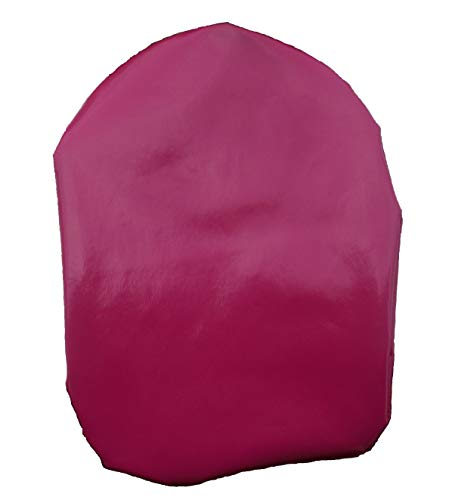 Simple Stoma Cover Ostomy Bag Cover Shower Cover PVC Coated Cerise Pink