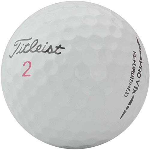 Titleist 24 Pro V1x Premium Refinished golfballen - Pearl/Mint