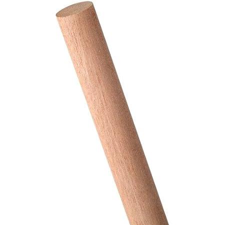 Waddell 1-1//4 In Pack 4 Hardwood Dowel Rod x 36 In