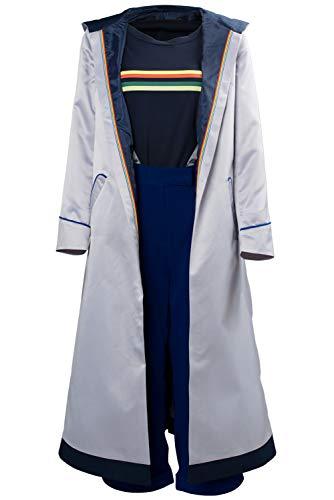 RedJade Doctor Who Season 11 Female Doctor Mantel Outfit Cosplay Kostüm Damen L