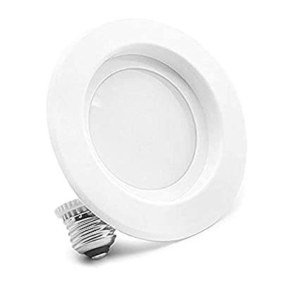 Bioluz LED 12Watt 4-inch UL-listed Dimmable Retrofit LED Recessed Lighting Fixture - 2700K LED Ceiling Light - 850 LM Recessed Downlight