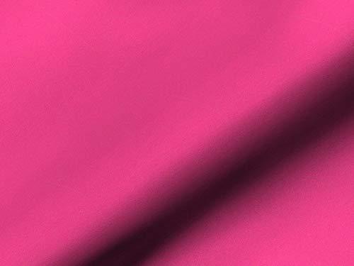 Saum & Viebahn GmbH & Co. KG Möbelstoff Unlimited Uni Farbe pink als robuster Bezugsstoff, Polsterstoff Uni zum Nähen und...
