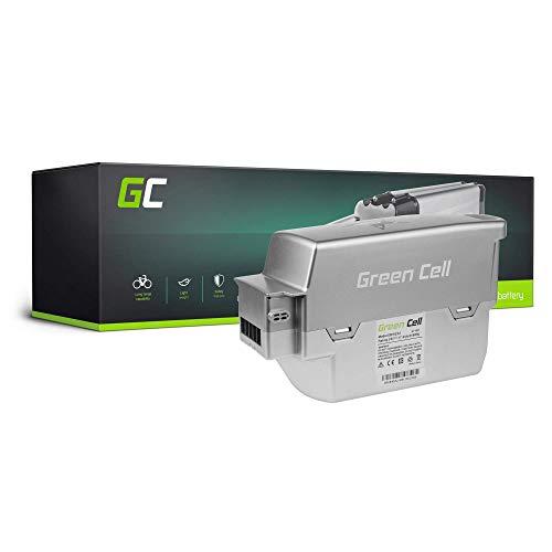 Green Cell EBIKE 24V 17.4Ah Batería Pedelec Panasonic System Li-Ion con Celdas Panasonic Green´S Green Twinburst Rich bit Bicicleta Eléctrica