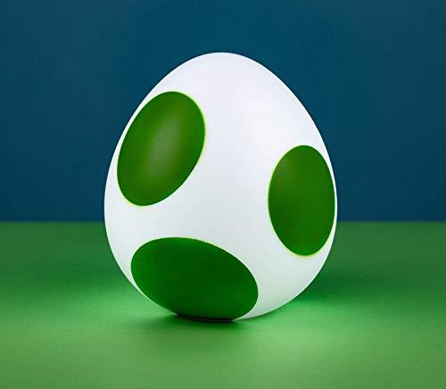 Super Mario von Paladone LED Lampe Yoshi Egg bedruckt, aus Kunststoff, kommt in Geschenkkarton.