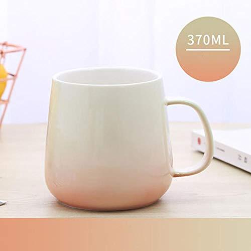 LIKEZZ Cute Mug Tasse À Café Réutilisable Espresso Tasses À Thé en Verre Couple Chinois Thé Cappuccino Tasse Maison, Style3,370 ML