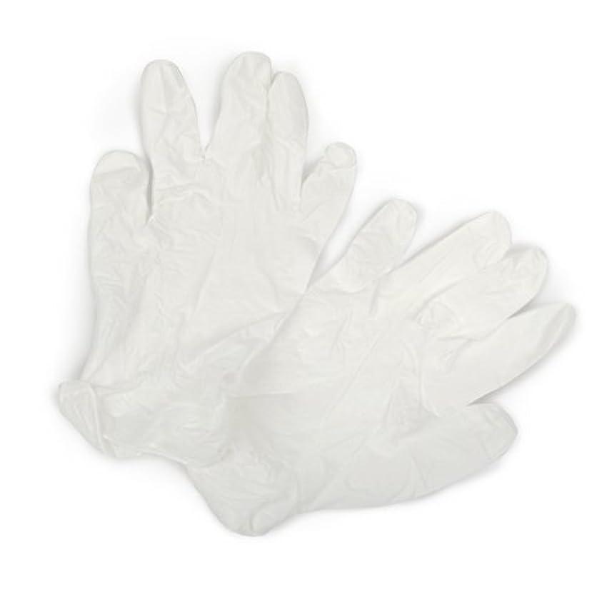 アプローチゴールド狭いCurad 3?G合成ビニールpowder-free合成試験手袋、100カウント