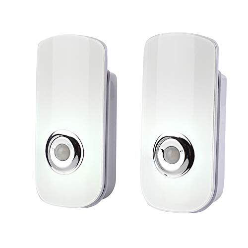 2 Pack LED Night Light Flashlight Motion Sensor...