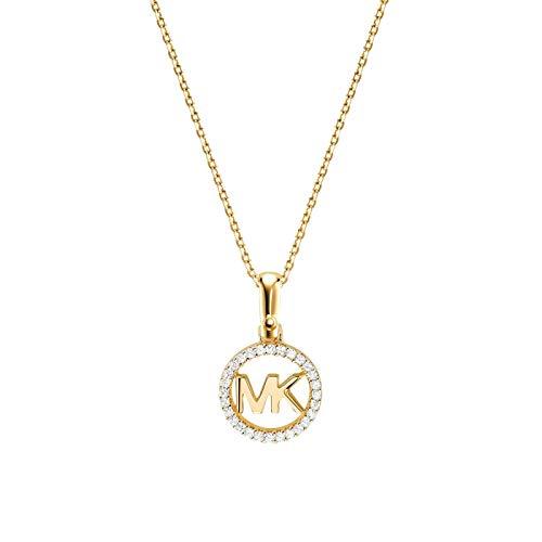 Michael Kors Damen-Kette 925er Silber One Size Gold 32002750