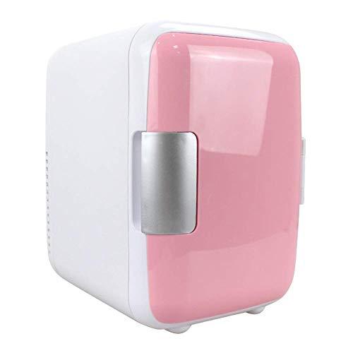 Reuvv Mini-koelkast, 4 liter, make-up, koelkasten voor dual gebruik, compact, draagbaar en stil AC + gelijkstroom, compatibiliteit geschikt voor gebruik in auto's, blauw