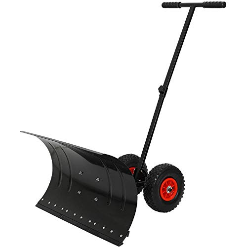 Wheeled Push Schneeschaufel Schneepflug großes Auto Werkzeug Artefakt Snowboard Schnee Schneepflug auf Rädern zusätzlich zu