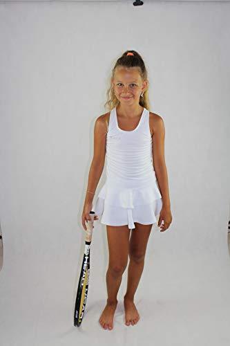 Girls Tennis Clothing EMZA (Schwarz, Größe: 152-158/ Alter: 11-13 Jahre)
