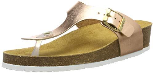 ARA Damen Bali 1217285 Pantoletten, Gold (Copper 07), 42 EU