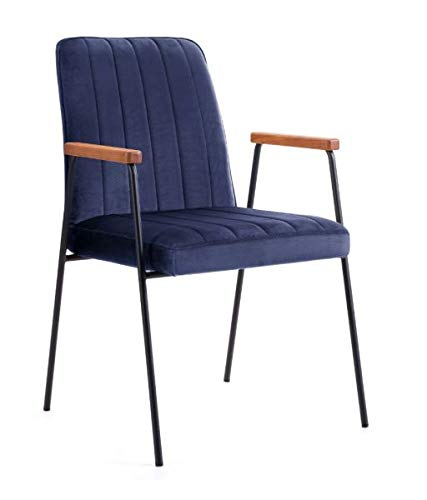 Be Bright Armchair Victus Dark Blue