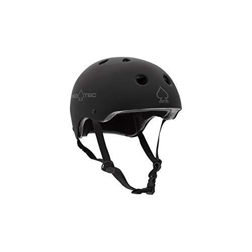 Pro-Tec Classic Safety Certified Skate and Bike Helmet, Medium, Matte Black