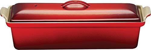 Le Creuset 25024320602260 Pastetenbackform 32 cm kirschrot