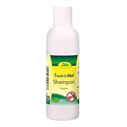 cdVet insektoVet Shampoo schützender Repellent Insektenschutz für Hund und Katze – effektive und wohlriechende Fellpflege