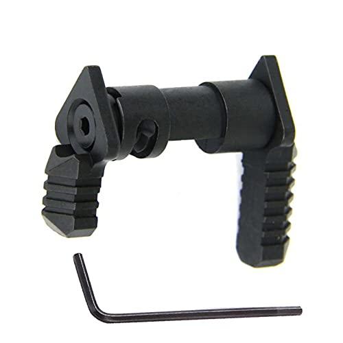 Aluminum Mil Spc Ambi Thumb Safety Professional Accessories (Black)