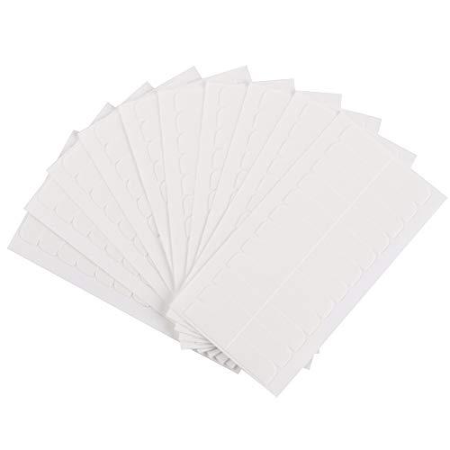 120 Pieces Hair Extensions Tape,4 cm x 0.8 cm Double Sided Replacement Tape for Tape In Hair Extensions (white)