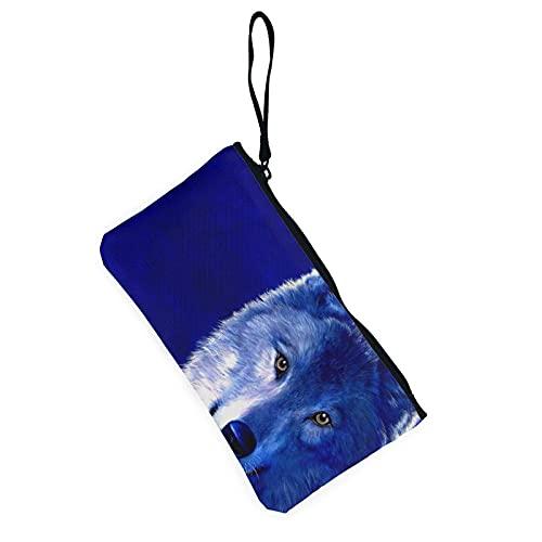 VJSDIUD Monederos Estuche con cremallera Carteras Bolsa de cambios Lona Linda bolsa de teléfono celular para mujeres, niñas, hombres, adolescentes