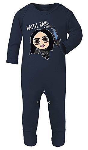 Kleur Mode Alita Battle Engel Print Baby Kostuum pyjama Footies 100% Katoen Hypoallergeen