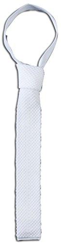 Busse Krawatte, gestrickt, Standard, weiß