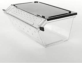 NomoyPet Reptile Box for Snake Turtle Breeding Case Feeding Hatching Container H8