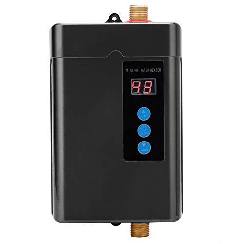 Ongoion Calentador de Agua Caliente, hogar Mini Calentador de Agua eléctrico Calentador...