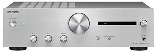 Onkyo A-9110S Amplificatore Stereo Integrato, Argento