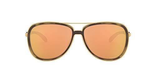 Oakley Damen 0OO4129 Sonnenbrille, Blau (Brown Tortoise/Gold), 58