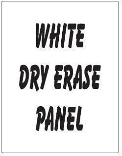 dry erase signs custom