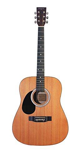 Martin Smith W-600-LH-N-MT - Guitarra acústica para zurdos, color marrón mate