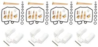 Deluxe Carburetor Rebuild Kit With Floats - Compatible with Honda CB900C/F