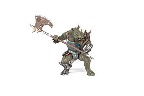 Papo - Hombre Rinoceronte, Figura con diseño El Mundo Fantástico (2038946)