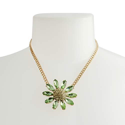 Betsey Johnson Flower Pendant Necklace