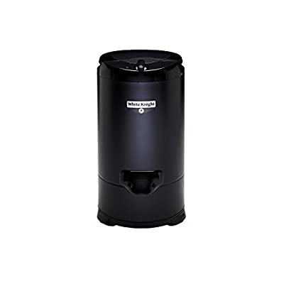 White Knight 28009B Spin Dryer in Black