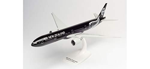 Herpa Air New Zealand Boeing 777 – 300er – ZK-OKQ All Blacks in miniatura per fai da te e da collezione, Multicolore, 612777