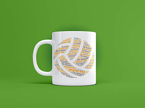 Motherwell FC Ceramic Ball Mug/Cup