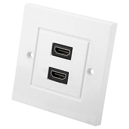 Placa de Pared, Amplia aplicación, fácil instalación Panel de Pared HDMI Resistente y Duradero, Aspecto Hermoso hogar del Hotel
