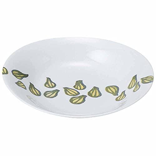 和食器 大皿 麺皿/軽量オーバルカレー皿 らっきょう/メインディッシュ 和風パスタ 冷やしうどん 冷やし中華 冷やしそば 業務用 家庭用 家族分購入推奨 Noodle Plate
