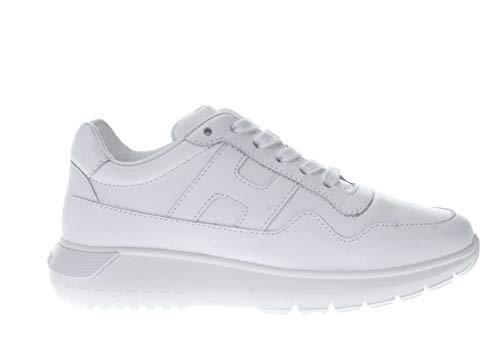 Hogan Junior Sneaker in Pelle H 371 Bambino Bianco 31 Taglia Europea : 31