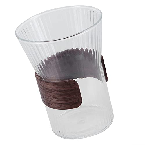 Cryfokt Vaso de Ron, Resistente, Multiusos, para Whisky, Lavable a máquina, Vaso de Cerveza, Copa de Vino, Vaso de borosilicato Alto para el hogar, café, Pub, Bar, Fiesta